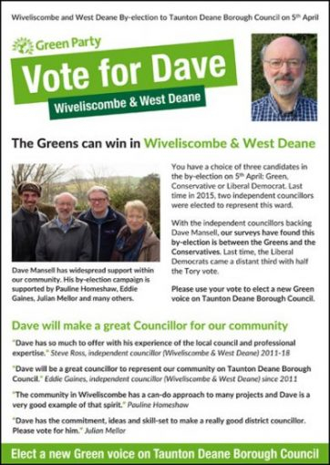 Wivey WD Election Leaflet 2018