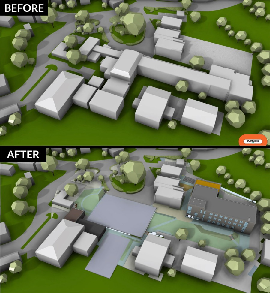 Kingsmead Before & After